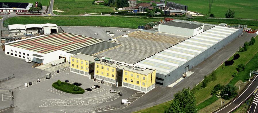 Завод LAVOR в Италии